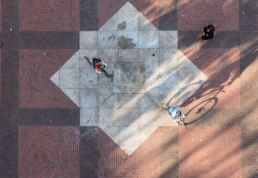 Block M in a labyrinth of the diag